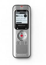 PHILIPS DVT2050 Registratore Vocale Digitale Portatile 8 GB Silver  Voice Tracer