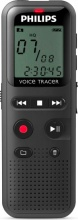PHILIPS DVT_1150 Registratore Vocale Digitale Portatile USB 4Gb Nero DVT1150 Serie 1000
