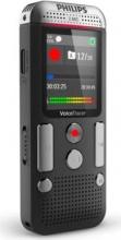 PHILIPS DVT_2510 Registratore Vocale Digitale Dittafono Memoria 8 GB Nero DVT251000