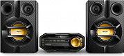 PHILIPS Mini Hi-Fi Lettore CD MP3 230W Radio FM Bluetooth USB Aux NeroOro FX10