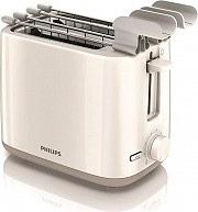 PHILIPS Tostapane per Toast 2 Fette 800W Fondo raccoglibriciole - HD259700