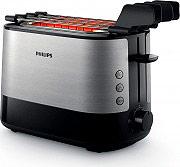 Philips HD263990 Tostapane 2 Fette 7 Livelli Cottura  Viva Collection