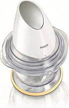 PHILIPS HR139600 Tritatutto Cucina 500 Watt Lama in Acciaio Argento Bianco
