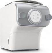 PHILIPS HR237505 Macchina per la Pasta Elettrica 4 Trafile 200 Watt Bianco