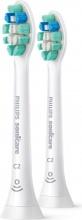 Philips HX902210 Confezione da 2 testine di Ricambio Sonicare C2 Optima Bianco