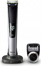 PHILIPS QP652020 Regolabarba Rifinitore Viso Trimmer Ricaricabile Wet&Dry QP6520