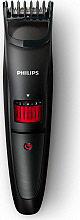 PHILIPS Regolabarba Ricaricabile Taglio 0.510 mm Lame in Acciaio Inox QT400515