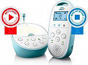 PHILIPS Baby Monitor DECT Raggio funzionamento 330 m Sensore Temperatura SCD560