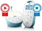 PHILIPS SCD56000 Baby Monitor DECT Raggio funzionamento 330 m Sensore Temperatura SCD560