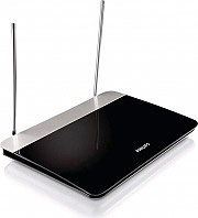 PHILIPS Antenna Tv Digitale Terrestre amplificata Interno UHF VHF FM SDV622712