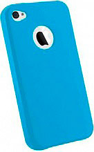 PHONIX Cover Custodia per Apple iPhone 44s colore Blu IP4G08AZ