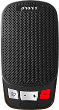 PHONIX VOICE01 Vivavoce Bluetooth per auto portatile funzione dualphone Nero