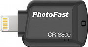 PHOTOFAST Card Reader Lettore schede 32 GB con connettore Lightning CR8800BK