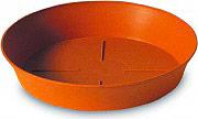 PLASTECNIC Sottovaso plastica Rotondo 18 cm per vaso piante Export