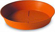 PLASTECNIC Sottovaso plastica Rotondo 24 cm per vaso piante Export