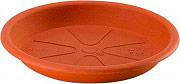 PLASTECNIC Sottovaso plastica Rotondo 32 cm per vaso piante Omnia