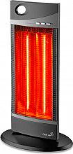 PLEINAIR Stufa Stufetta elettrica Infrarossi Carbonio 1200W PAT-1200-N