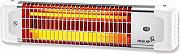 PLEINAIR Stufa Stufetta elettrica parete Infrarossi Quarzo Max 1200W - R1200