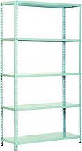 PROMETAL SCAFFAL. 100X40 G Scaffale Metallo Scaffalatura 5 ripiani cm. 100x40x186 h Tipo alleggerito AS Gr
