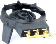 PROVIDUS FO0003R Fornellone a Gas Fornello GPL Tondo 30 cm Bruciatore in ghisa