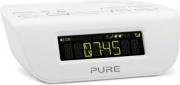 PURE 147501 Radiosveglia Digitale DAB LCD Retroilluminato Bianco  Siesta Mi SII