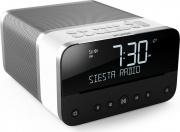 PURE 152301 Radiosveglia con diplay digitale Grigio bianco colore Grigio