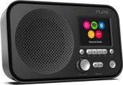 "PURE ELAN IR5 Radio Portatile Bluetooth Digitale FM Display 2.8"" nero 154120"