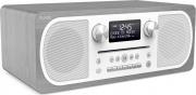 PURE EVOKE C-D6 Radio Digitale DAB Bluetooth Lettore CD 20 W GrigioBianco 151083