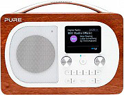 PURE PURE EVOKE H4 WALNUSS Radio Digitale DAB  FM Portatile Bluetooth Legno EVOKE H4 Walnut