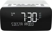 PURE Siesta Charge Sveglia e Radiosveglia con diplay digitale Bianco