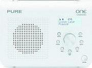 PURE Radio Portatile Digitale DAB+ Fm VL-61905 ONE Classic Series II White