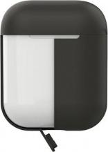 PURO APCASE2DKGREY Custodia in silicone per Airpod Grigio colori diversi inclusi APCASE2DKGRE