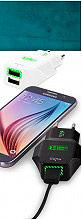 PURO Caricabatterie a Rete per Smartphone Tablet 2 USB - FCTCV2USB24WHI