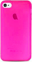 PURO Cover Custodia Ultra Slim per Telefono Cellulare iPhone 44S Rosa IPC403PNK