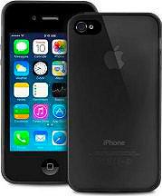 PURO Cover Custodia Ultra Slim per Telefono Cellulare iPhone 55S Nero IPC503BLK
