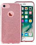 PURO Cover Custodia a Guscio Smartphone Apple iPhone 7 Oro Rosa IPC747SHINERGOLD