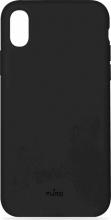 PURO IPCX61ICONBLK Cover iphone XR Custodia Apple rigida smartphone Nero
