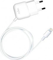 PURO Caricabatteria Apple Lightning 1a colore White MTCAPLT1WHI