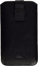 PURO Cover Custodia per Telefoni Cellulari e Smartphone Nero - PCSLIMBLKXL