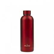 PURO WB500DW2RED Borraccia Termica Bottiglia termica 500 ml Rosso