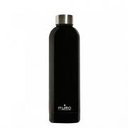PURO WB750DW1BLK Borraccia Termica Bottiglia termica750 ml Nero  Glossy