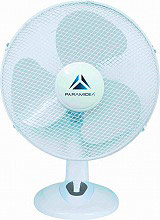 PYRAMIDEA AWTAB40 Ventilatore da Tavolo a Pale ø 40 cm Oscillante Bianco