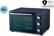 PYRAMIDEA FOK3612 Forno Fornetto elettrico Ventilato 36 litri 1500 Watt Nero