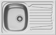 PYRAMIS 100132130 Lavello cucina 1 Vasca Incasso 79 cm Acciaio Inox  Sparta 1B 1D