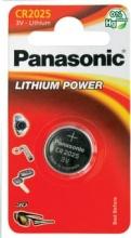 Panasonic CR2025BL1 Pila Bottone al Litio 3 V CR2025