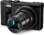 Panasonic DMCTZ80EGK Fotocamera digitale compatta 18Mpx Video Full HD WiFi Lumix