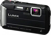 "Panasonic DMC-FT30EG-K Fotocamera digitale compatta 2.7"" 16,6Mpx Zoom 4x Video USB"