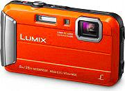Panasonic Fotocamera digitale compatta 16.1 Mpx CCD Zoom 4x dig. 4 x DMC-FT30E-D
