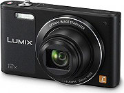 Panasonic Fotocamera Digitale 16Mpx CCD Zoom 12x digitale 4x Wi-Fi DMC-SZ10EG-K