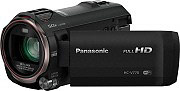 Panasonic Videocamera digitale 12,76Mpx MOS BSI 20x Full HD HD-Ready HC-V770EG-K
